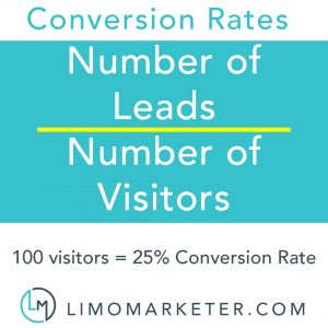 leads visitors limo marketer