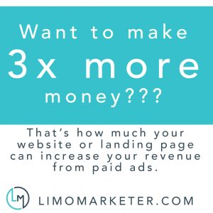limo marketer paid ads increase revenue