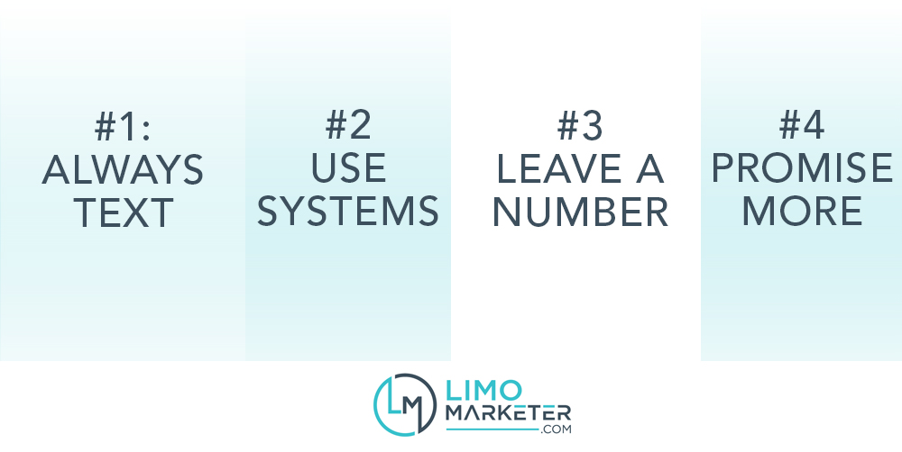 limo marketer four steps